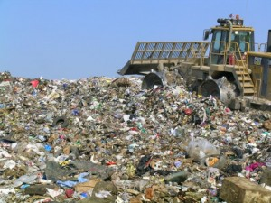 image of municipal solid waste