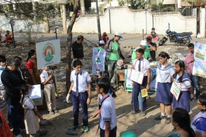 school participation at Anandvan